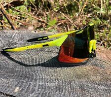 Polarized Cycling Sunglasses UV400 Bike Glasses Goggles Sports Eyewear yellow