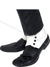 COPRISCARPE BIANCHI Accessori Carnevale Gangster Michael Jackson 33459