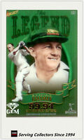 2009-10 Select Cricket Sir Don Bradman Legend Acelate Card--Rare & Popular!