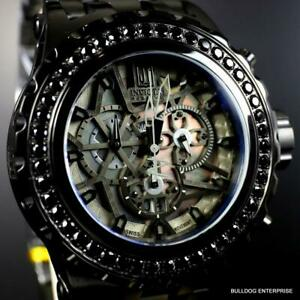 Invicta Reserve JT Subaqua Specialty 5.06 Black Spinel Steel Swiss Mvt Watch New