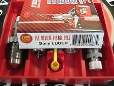 Lee Precision 90963 9mm Luger Deluxe Carbide 4 Die Set w NEW Style Lock Rings