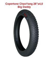 """Copertone ChaoYang 26""""x4,0 modello Big Daddy per Bici tipo Fat Bike ruote 26"""""""