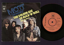 "7"" MOTT THE HOOPLE THE GOLDEN AGE OF ROCK 'N' ROLL / REST IN PEACE HOLLAND 1974"