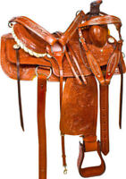 All Purpose Leather  WESTERN Horse Saddle  all size