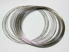 Memory Wire about 50 Loops Necklace Choker Collar 115mm Jewelry Making
