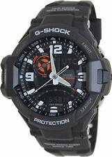 Casio G-SHOCK GRAVITYMASTER GA-1000-1A SKY COCKPIT TWIN SENSOR RESIN STRAP WATCH