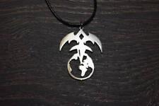 Queensryche tri-ryche triryche necklace pendant emblen logo symbol pin patch