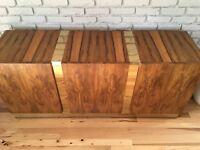 MidCentury Milo Baughman Brazilian Rosewood Credenza Sideboard for Thayer Coggin