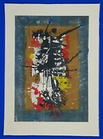 """Heinrich Wilthelm Signed and Numbered """"Eroica"""" Silkscreen Print"""