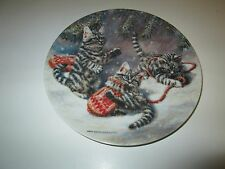 Amy Brackenbury's  Cat Tales Collection Plate Fifth Issue Kittens and Mittens