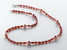 Unbehandelte Echte Edelstein-Halsketten & -Anhänger mit Tropfen für Damen