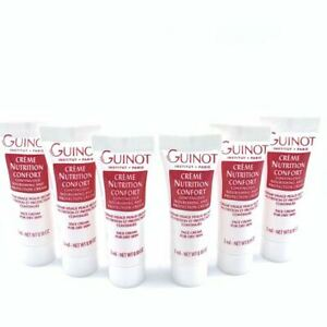 Guinot Continuous Nourishing & Protection Cream for Dry Skin [6 Travel Size]