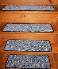 14 Step 9'' x 28''  1 Landing  28'' x 28'' Tufted carpet Wool Woven Stair Treads