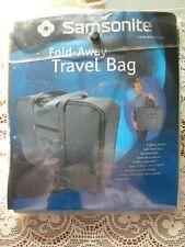 NWT!! Samsonite Fold Away Charcoal Travel Bag