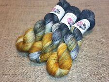 SW Merino Alpaca Nylon yarn, 4-ply, fingering weight, 100g, DUBAI