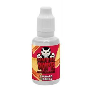 Vampire Vape Rhubarb Crumbl Concentrated Flavour Concentrate for DIY Liquid Mix