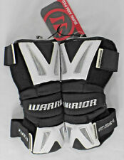 "WARRIOR ""Burn"" Lacrosse Arm Pads, Black / White, Size Medium, NWT"