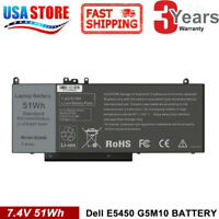 "G5M10 Battery For Dell Latitude E5450 E5550 Notebook 15.6"" 0WYJC2 8V5GX WYJC2"