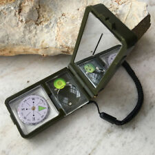 Multifunction 10 in 1 Outdoor Military Camping Hiking Survival Tool Compass Kit*