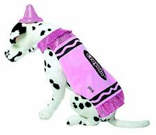 Rasta Imposta CRY Crayola Crayon Pink Sparkle Dog Pet Halloween Costume