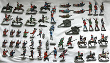 Collection of Vintage Lead Toy Soldiers For Restoration / Parts / Display