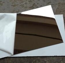 """US Stock 4pcs 0.5mm x 5"""" x 5"""" 304 Stainless Steel Mirror Polished Plate Sheet"""