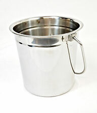 BBQ Grill Smoker Stainless Steel Grease Drip Bucket Pail - HEAVY DUTY - P-1007