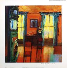 "Martin décent ""reflections"" still life signé lim ed! taille: 45cm x 45cm neuf rare"