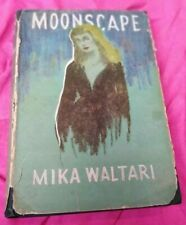 Mika Waltari Moonscape First Edition 1956 Putnam HB