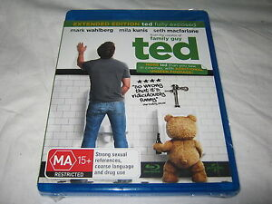 Ted - Extended - Brand New & Sealed - Region B - Blu Ray