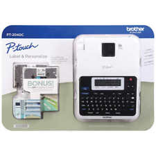 Brother P Touch 2040c Label Maker Lcd Display For Ease Of Viewing