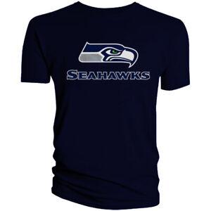 Seattle Seahawks T-Shirt Graphic Men Cotton SEA
