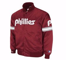 Philadelphia Phillies Mitchell & Ness Backup Satin Jacket Men's 2XL MLB A13