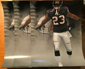 (Lot of 3) Arian Foster 11x14 Houston Texans color photos