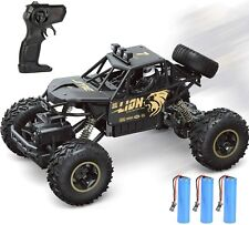 4DC3 4WD RC Monster Truck Off-Road Vehicle 2.4G Remote Control Buggy Crawler Car