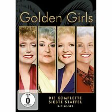 The Golden Girls - Series 7 * Beatrice Arthur * 3-Disc Region 2 (UK) DVD * New