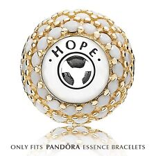 Genuine Pandora Gold Hope Charm 796059NWC
