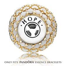 Genuine Pandora Gold Hope Charm 796059NWC