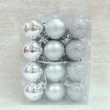 Kunststoff Weihnachtskugeln Christbaumkugel 24 Stück bis 3cm Christbaumschmuck
