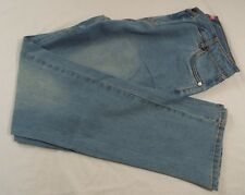 Woman Within Tall Light Washed Tall 5 Pocket Denim Jeans 12 T