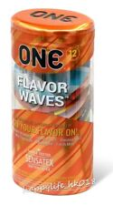 New Malaysia ONE FlavorWaves 12's Latex Condom 1 pack