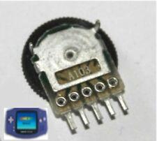 Volumen de sonido Rueda De Control De Nintendo Game Boy Advance Nuevo reparación potenciómetro