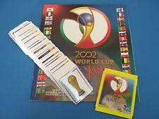 PANINI WM 2002 Korea & Japan 02 - Komplettset + Album + Tüte 1-576 Rar/Top