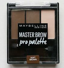 Maybelline Brow Master Pro Palette Eyebrow Powder & Wax Soft Brown