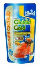 (3 Pack) Hikari Cichlid Gold 3.5 oz   Sinking Mini Pellet High Protein Fish Food