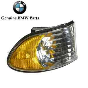 For BMW E38 740i 740iL 750iL Front Turn Signal Lights Lens Right Passenger OES