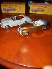 Vintage Dinky Toys 2x194 Bentley S Coupe Cars in lovely code 3 condition.