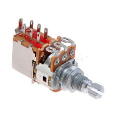 Electric Guitar Potentiometer Pot B 250k Tone Push Pull Switch With Nut Washer