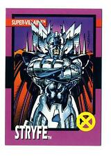 Impel 1992 X-Men Series 1 (I) Base Card #58 Super-Villains Stryfe