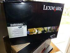 TS650N 24B5885 BLACK LEXMARK GENUINE TONER CARTRIDGE VAT INC